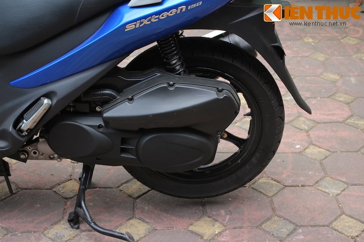 Can canh Suzuki Sixteen doi thu cua Honda SH vua ve den Viet Nam - 10