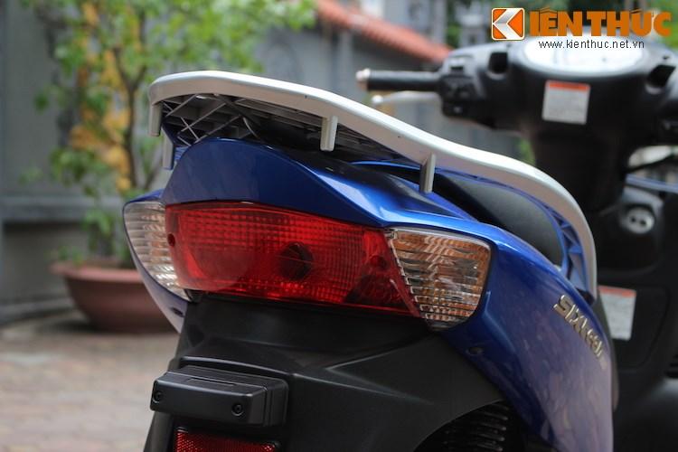 Can canh Suzuki Sixteen doi thu cua Honda SH vua ve den Viet Nam - 12