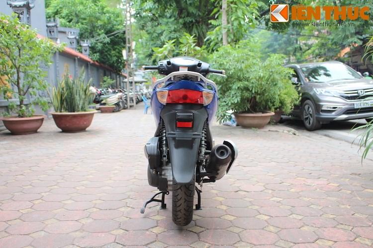 Can canh Suzuki Sixteen doi thu cua Honda SH vua ve den Viet Nam - 13