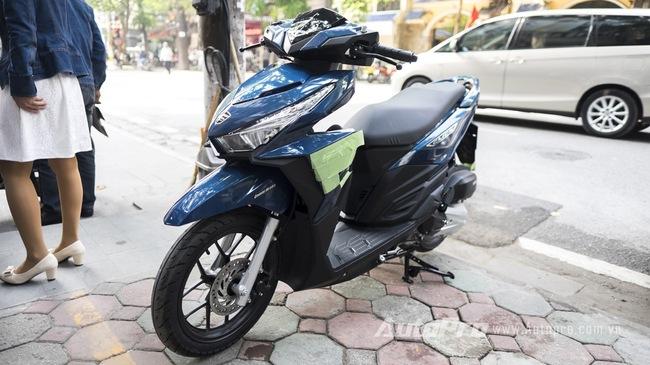 Chi tiet Honda Click 125i Thai gia ngang ngua SH Mode tai Ha Noi