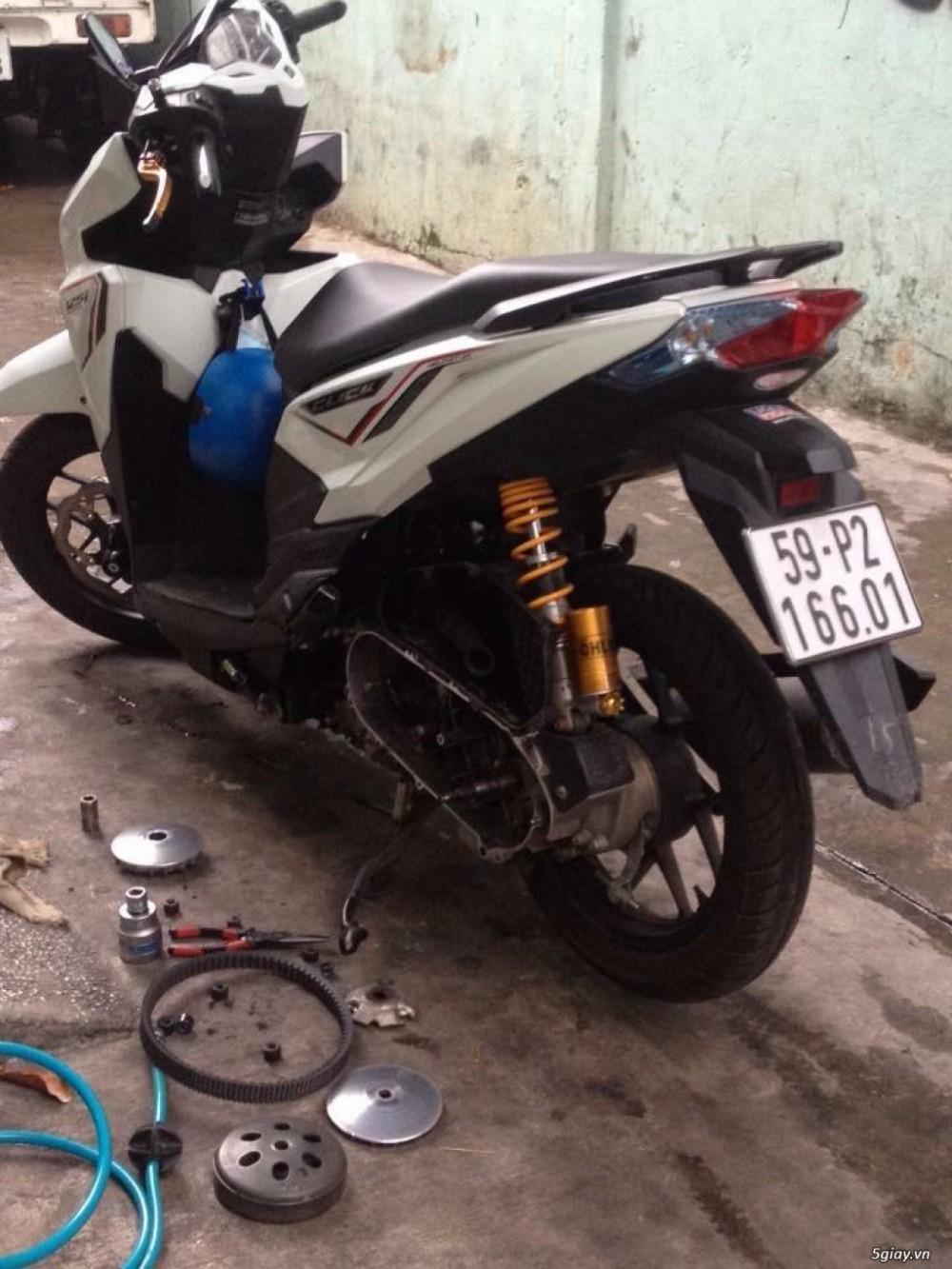 Chuyen Do Noi Xe Tay Ga Full Noi Noi Zin Bao Duong Ve Sinh Noi Cho Yamaha Honda Piago - 15