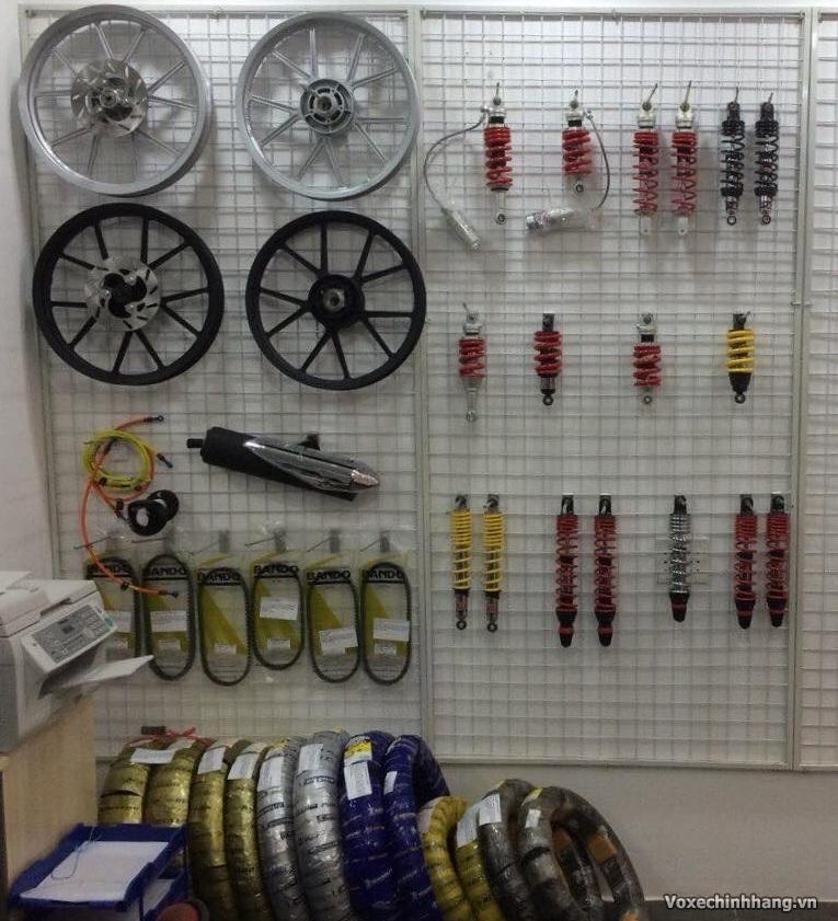 Chuyen phan phoi vo khong ruot Michelin Dunlop Maxxis chinh hang cho xe tay ga - 3