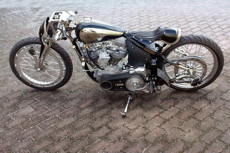 Dan choi My phai lac mat voi chiec HarleyDavidson do cua nguoi Nhat - 3