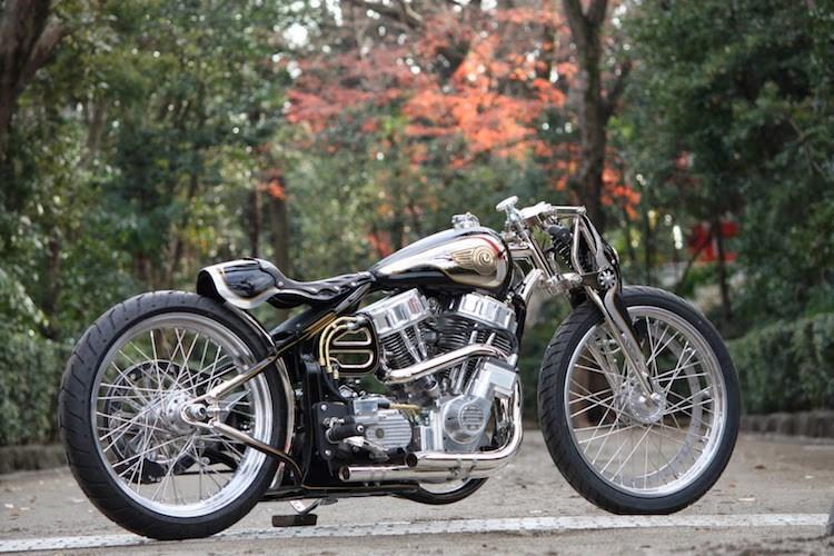 Dan choi My phai lac mat voi chiec HarleyDavidson do cua nguoi Nhat - 8