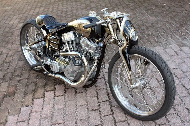 Dan choi My phai lac mat voi chiec HarleyDavidson do cua nguoi Nhat - 10