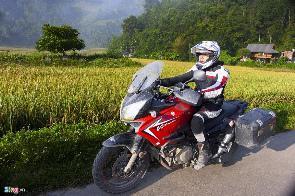 Dan sieu moto chinh phuc dinh deo Tay Bac - 10