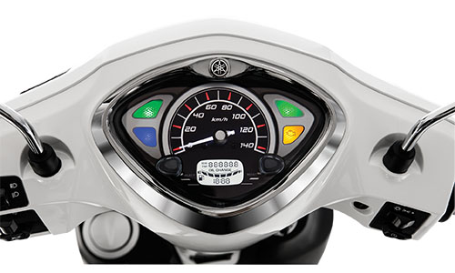 Danh gia Yamaha Acruzo 2015 Gia xe va chi tiet hinh anh - 4