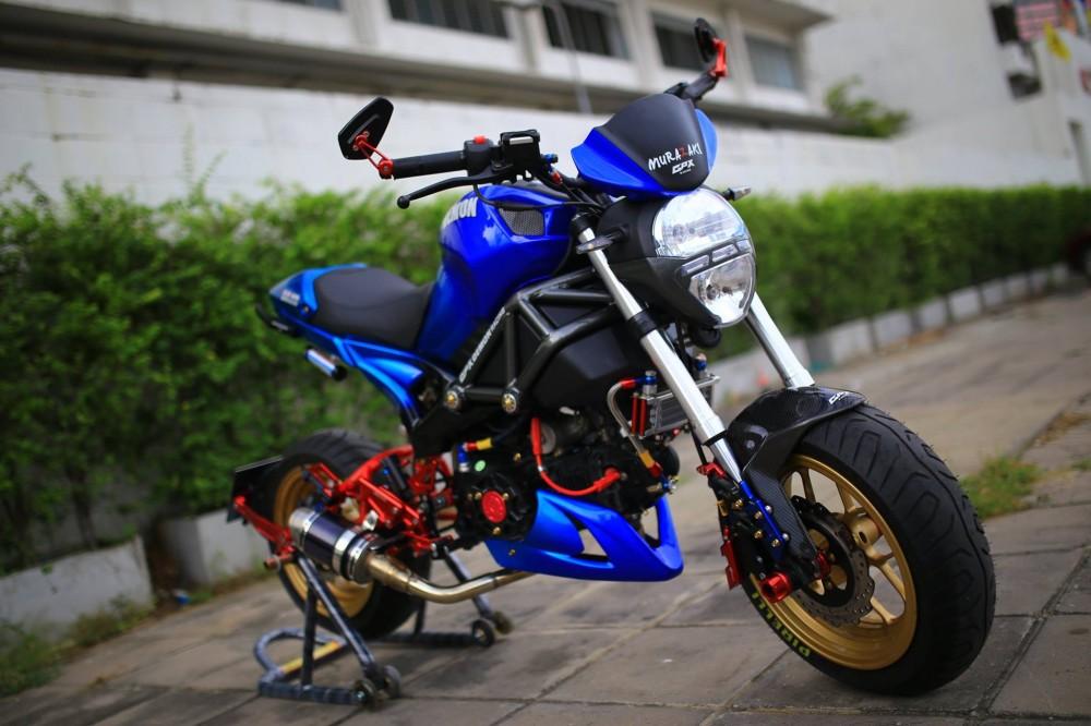 Ducati Mini do phong cach cung dan do choi kieng - 4