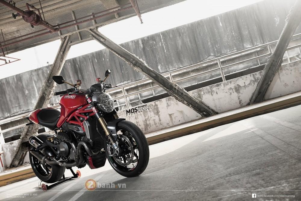 Ducati Monster 1200S do chat lu ben canh co nang ca tinh - 2