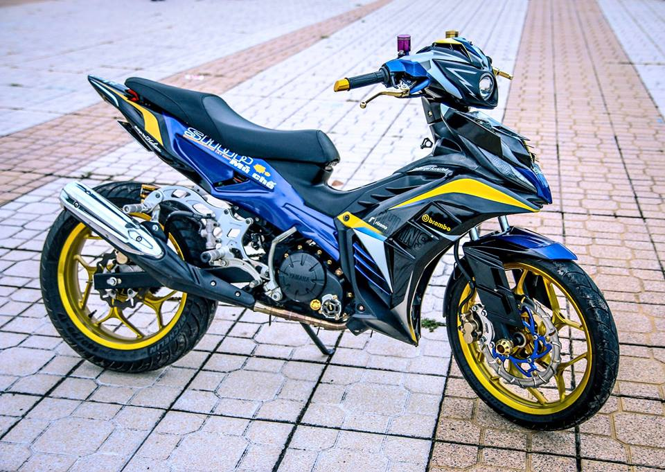 Exciter 135 che mu ham ho do dang canh nguoi dep - 5