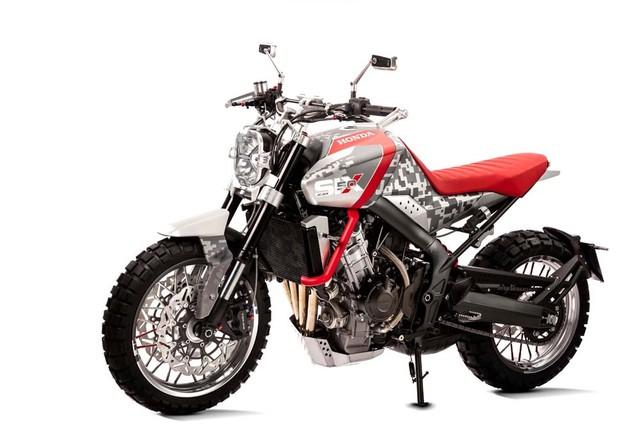 Honda CB Six50 Concept phien ban Scrambler day co bap - 2