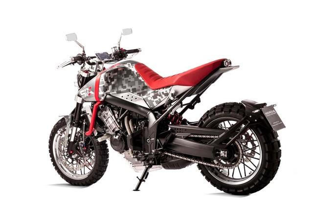 Honda CB Six50 Concept phien ban Scrambler day co bap - 3