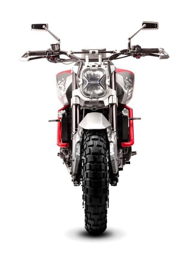 Honda CB Six50 Concept phien ban Scrambler day co bap - 4