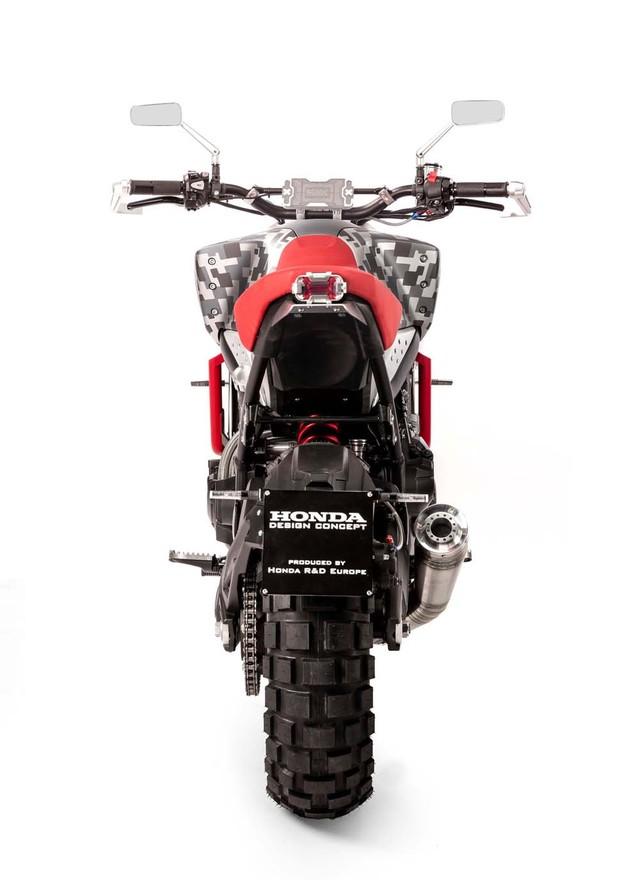 Honda CB Six50 Concept phien ban Scrambler day co bap - 5