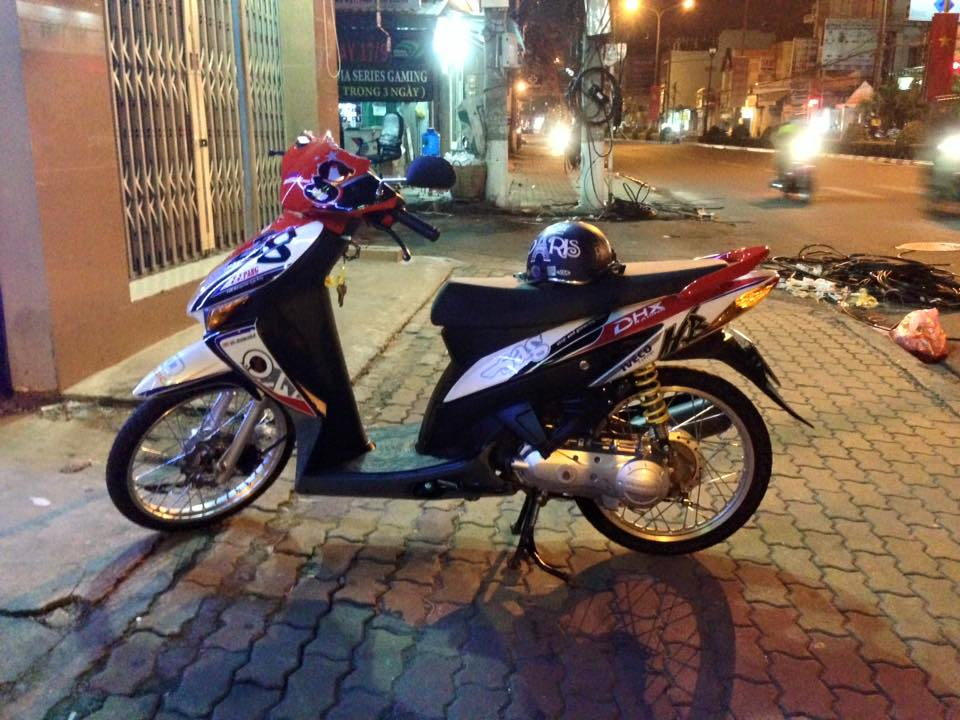Honda Click kieng phien ban dac biet