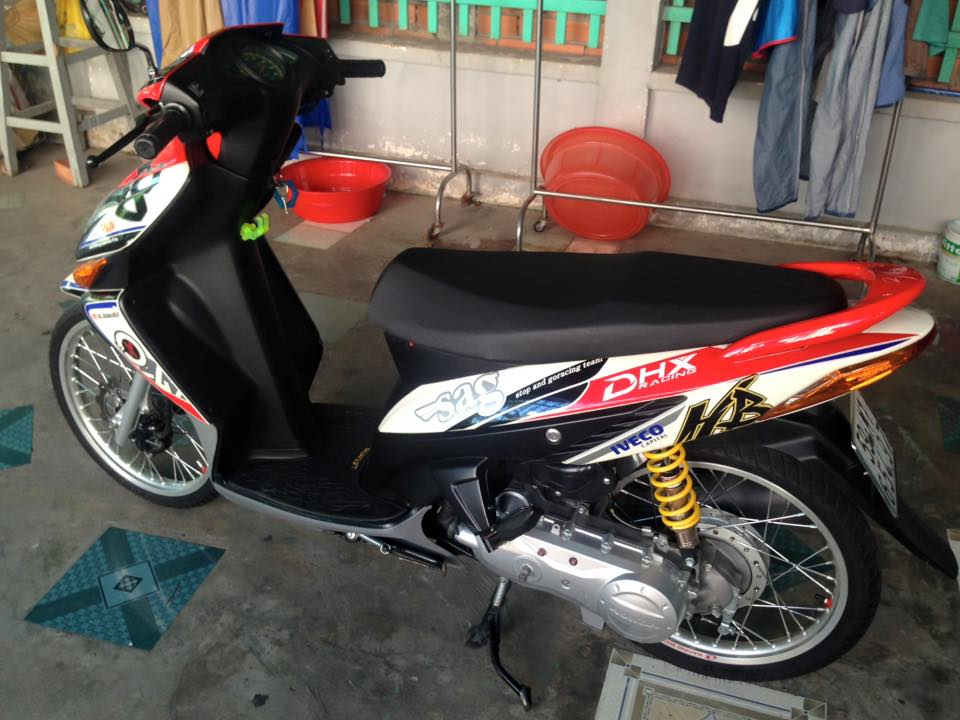 Honda Click kieng phien ban dac biet - 2