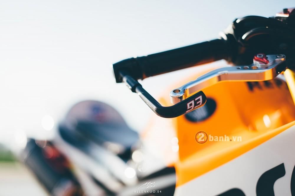 Honda MSX do day chat choi voi phong cach Sportbike - 2