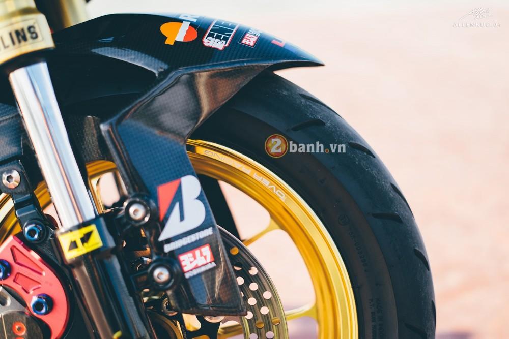 Honda MSX do day chat choi voi phong cach Sportbike - 3