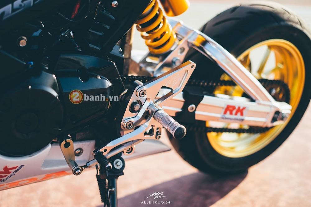 Honda MSX do day chat choi voi phong cach Sportbike - 7