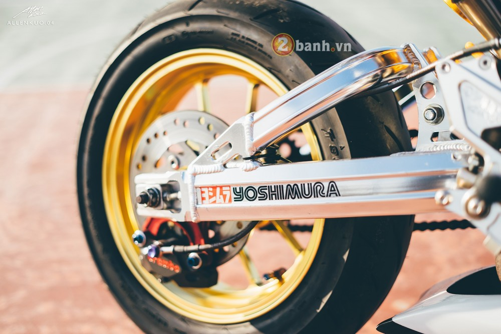 Honda MSX do day chat choi voi phong cach Sportbike - 8