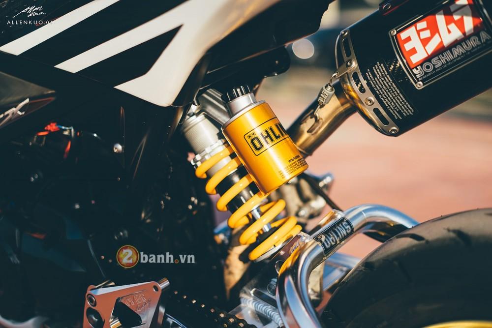 Honda MSX do day chat choi voi phong cach Sportbike - 11