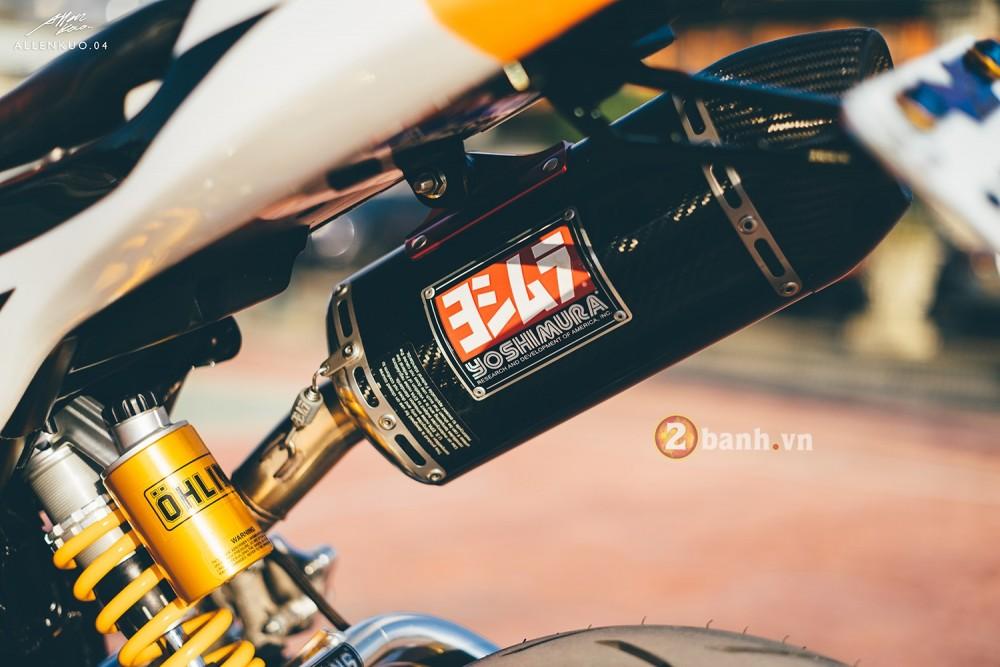 Honda MSX do day chat choi voi phong cach Sportbike - 12
