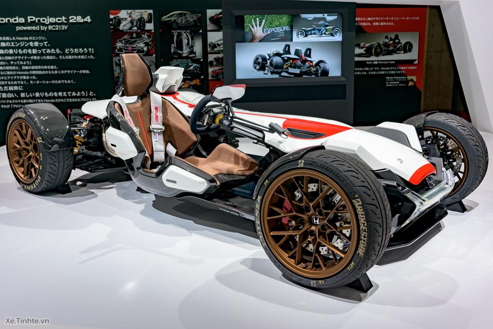 Honda Project 24 xe dua 4 banh voi dong co cua sieu mo to RC213V - 2
