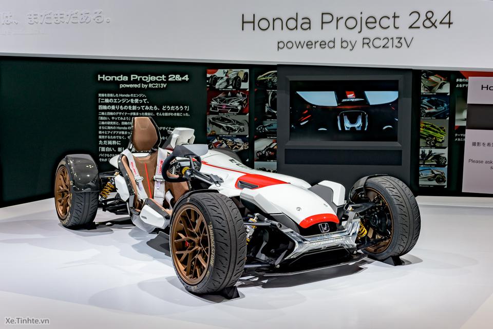 Honda Project 24 xe dua 4 banh voi dong co cua sieu mo to RC213V - 4