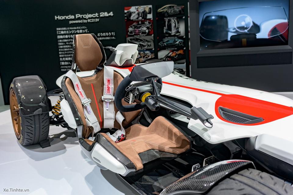 Honda Project 24 xe dua 4 banh voi dong co cua sieu mo to RC213V - 7