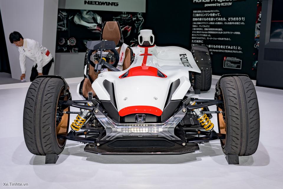 Honda Project 24 xe dua 4 banh voi dong co cua sieu mo to RC213V - 8