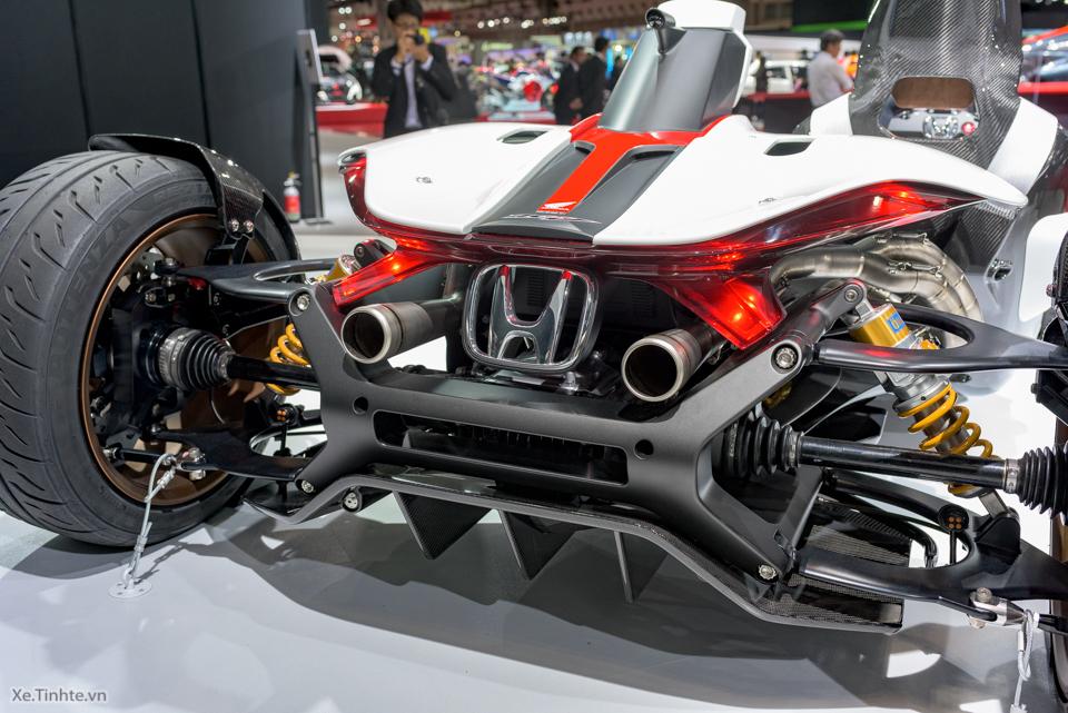 Honda Project 24 xe dua 4 banh voi dong co cua sieu mo to RC213V - 16