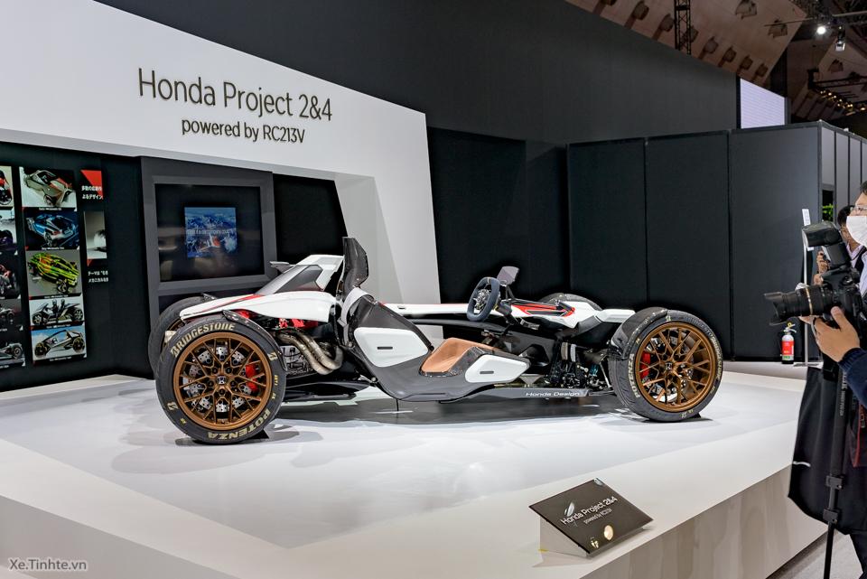 Honda Project 24 xe dua 4 banh voi dong co cua sieu mo to RC213V - 18