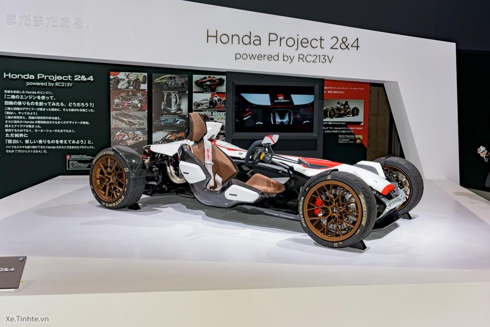 Honda Project 24 xe dua 4 banh voi dong co cua sieu mo to RC213V - 19