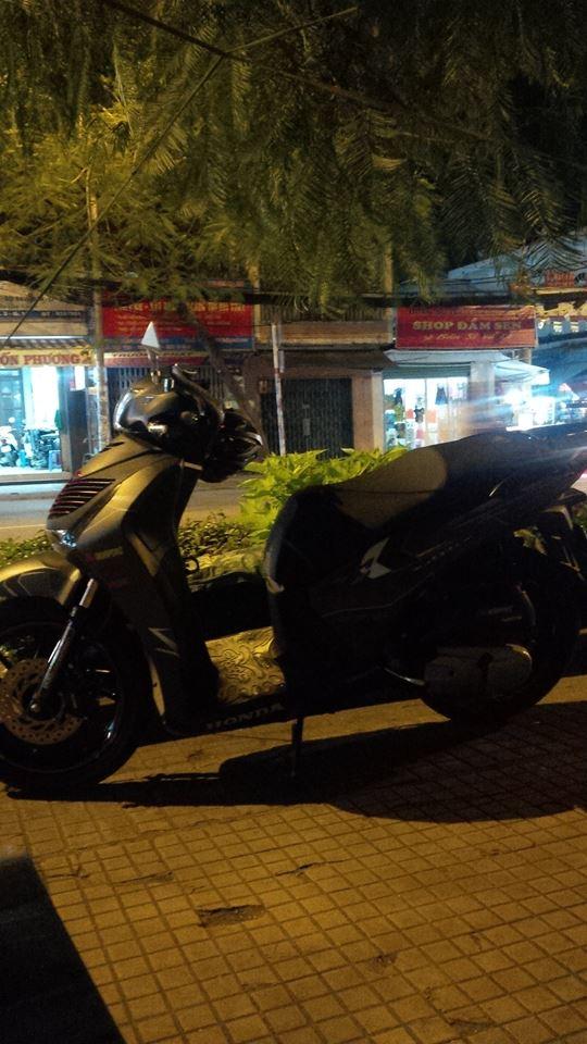 Honda Sh125 do kieng Rizoma tay thang Rider 6 so va vai mon an choi - 3