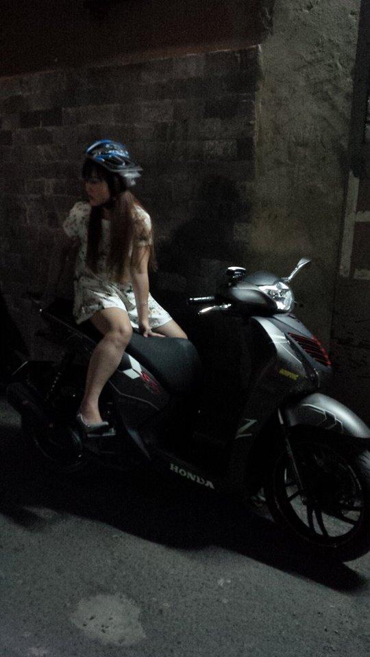 Honda Sh125 do kieng Rizoma tay thang Rider 6 so va vai mon an choi - 4