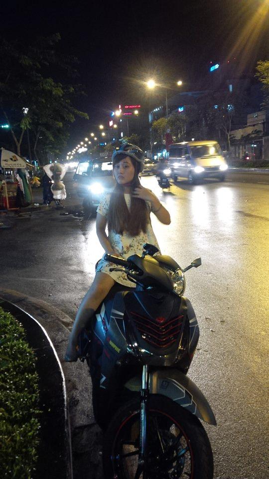 Honda Sh125 do kieng Rizoma tay thang Rider 6 so va vai mon an choi - 5