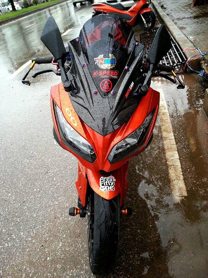 Kawasaki Ninja 300 do nhe nhang tai Thai Lan - 3
