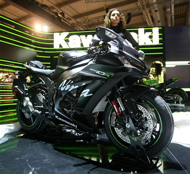 Kawasaki Ninja ZX10R 2016 ra mat phien ban Winter Test Edition - 5