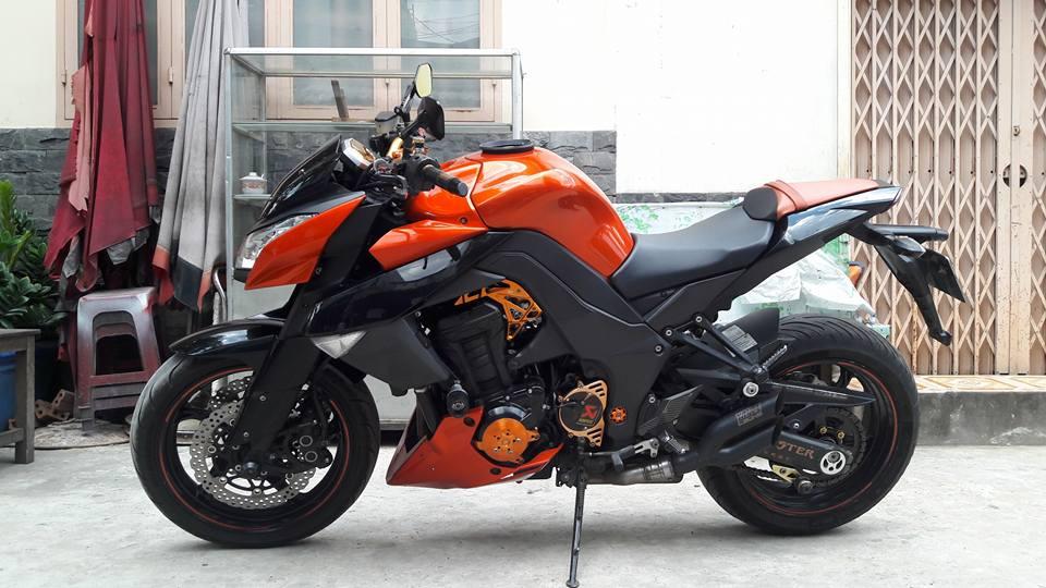 Kawasaki Z1000 doi cu do nhe nhang nhung cuc chat