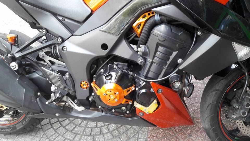 Kawasaki Z1000 doi cu do nhe nhang nhung cuc chat - 5