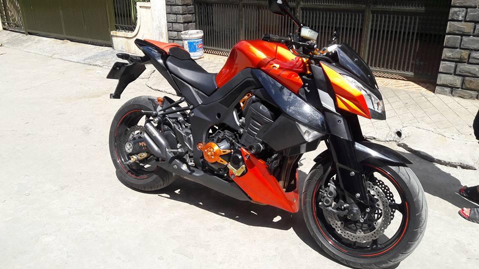 Kawasaki Z1000 doi cu do nhe nhang nhung cuc chat - 6