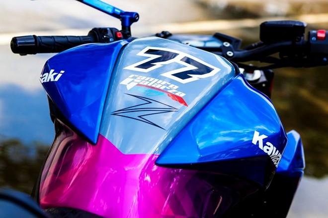 Kawasaki Z800 dan ao son tem doc la cua biker Sai Gon - 3