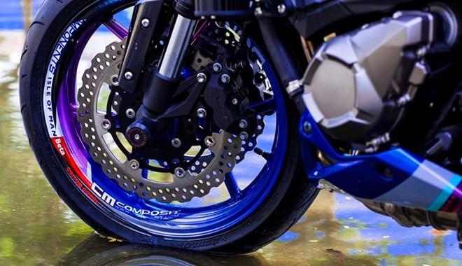 Kawasaki Z800 dan ao son tem doc la cua biker Sai Gon - 4
