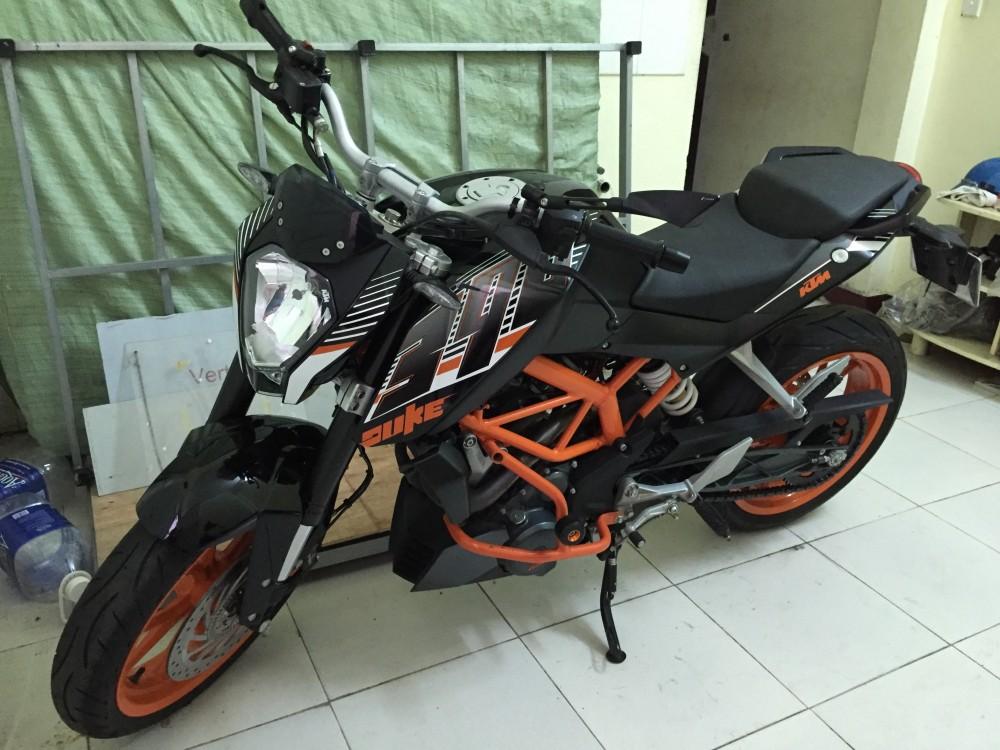 KTM DUKE 390 BLACK ODO 2300