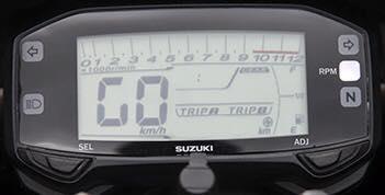 Lo anh dong ho Suzuki Satria Fu150 hoan toan moi - 2