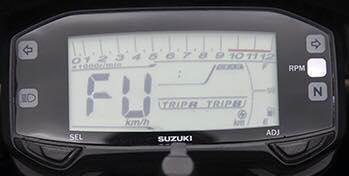 Lo anh dong ho Suzuki Satria Fu150 hoan toan moi - 3