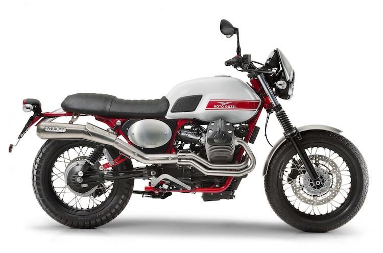 Moto Guzzi V7II Stornello mau Scrambler moi chinh thuc ra mat - 2