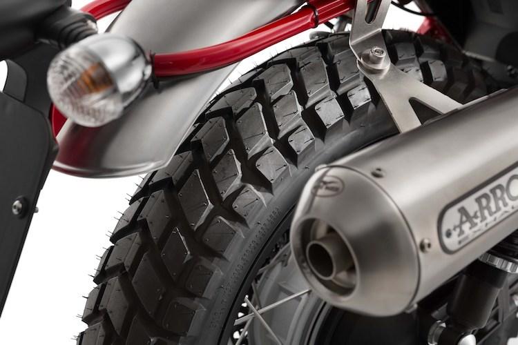 Moto Guzzi V7II Stornello mau Scrambler moi chinh thuc ra mat - 3