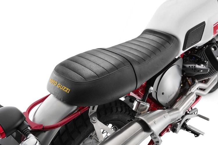 Moto Guzzi V7II Stornello mau Scrambler moi chinh thuc ra mat - 6