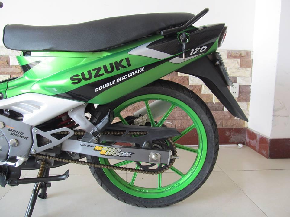 Ngam con Suzuki satria sport moi keng tu trong ra ngoai - 2